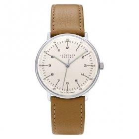 ユンハンス マックスビル 027 3701 02 手巻き 腕時計 メンズ サファイアクリスタル JUNGHANS Max Bill HandWind 027/3701.02 027370102