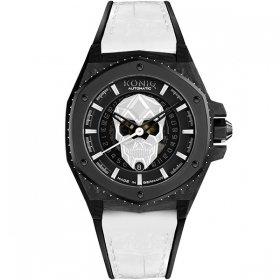 ケーニグ キングクラフト K74KC004 腕時計 メンズ KONIG K74 KING CRAFT 自動巻 ケーニッヒ キング・クラフト スカル レザーストラップ