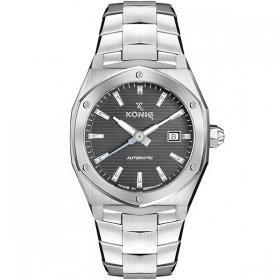 ケーニグ キャリバー K74C004 腕時計 メンズ KONIG K74 CALIBRE 自動巻 ケーニッヒ メタルブレス シルバー系