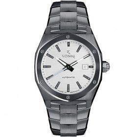 ケーニグ キャリバー K74C006 腕時計 メンズ KONIG K74 CALIBRE 自動巻 ケーニッヒ メタルブレス ブラック系