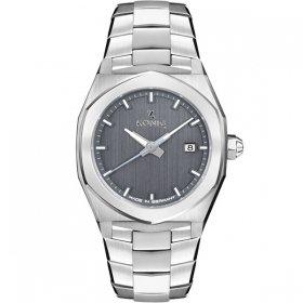ケーニグ ベース K74B005 腕時計 メンズ KONIG K74 BASE クォーツ ケーニッヒ メタルブレス シルバー系