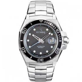 ケーニグ マリーン K74M001 腕時計 メンズ KONIG K74 MARINE 自動巻 ケーニッヒ メタルブレス マリン ブラック系