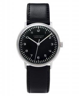 特価品 ユンハンス マックスビル 027 3702 00  腕時計 メンズ JUNGHANS Max Bill HandWind 027/3702.0 クロノグラフ レザーストラップ