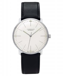 特価品 ユンハンス マックスビル 027 3501 00 腕時計 メンズ JUNGHANS Max Bill 027/3501.00 自動巻 レザーストラップ