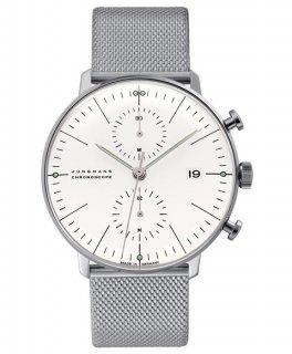 特価品 ユンハンス マックスビル 027 4600 00m クロノグラフ 自動巻き 腕時計 メンズ JUNGHANS Max Bill 027/4600.0M