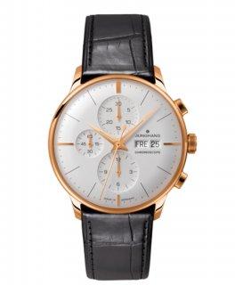 海外取寄せ(納期:約2〜3ヶ月後)  ユンハンス マイスター クロノスコープ 027 7323 00 ドイツ語表記 腕時計 メンズ JUNGHANS 027/7323.00 027732300