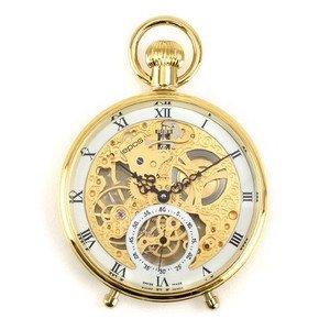 エポス 懐中時計 2166GP 手巻き Unitas6497 シースルー epos メンズ レディース