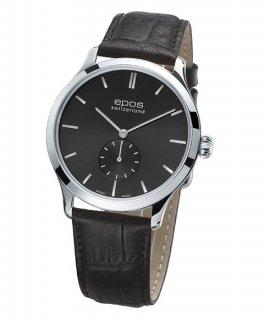 エポス オリジナーレ 3408GY 手巻き 腕時計 メンズ epos Originale レザーストラップ