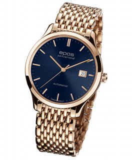 特価 55%OFF! エポス オリジナーレ 3420RGPBLM 自動巻 メンズ 腕時計 Originale epos ゴールド