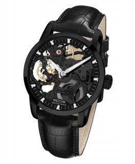 エポス ソフィスティック 3424BSKBBK 腕時計 メンズ 手巻 スケルトン epos