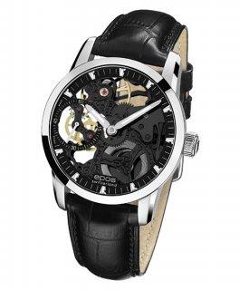 エポス ソフィスティック 3424BSKBK 腕時計 メンズ 手巻 スケルトン epos