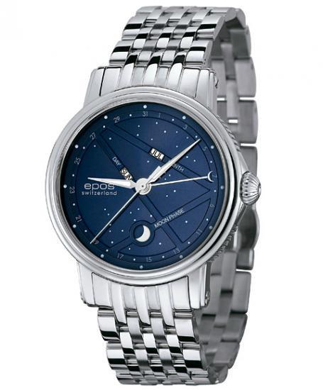 エポス ナイトスカイ 3391BLM 腕時計 メンズ 自動巻き epos EPOS