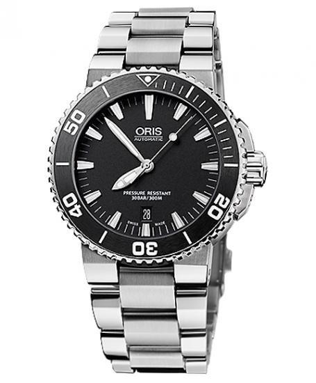 即納可能! オリス アクイス デイト 733 7653 4154M ダイバーズ メンズ 腕時計 自動巻き ORIS Aquis