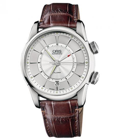 オリス アートリエ アラーム 90876074091D メンズ 腕時計 自動巻き ORIS Artelier Alarm