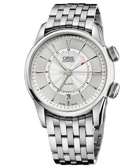 オリス アートリエ アラーム 90876074091M メンズ 腕時計 自動巻き ORIS Artelier Alarm
