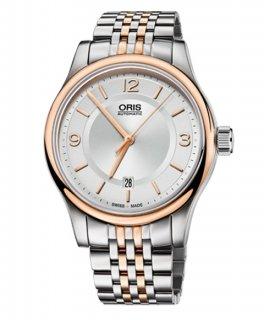 オリス クラシック デイト 73375944331M 腕時計 メンズ 自動巻き ORIS Classic 733 7594 4331M メタルブレス アウトレット