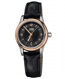 特価 55%OFF!  オリス クラシック デイト 56176504334F レディース 腕時計 自動巻き ORIS Classic 561 7650 4334F アウトレット