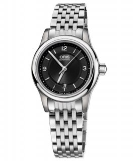 特価 55%OFF! オリス クラシック デイト 56176504034M レディース 腕時計 自動巻き ORIS Classic 561 7650 4034M メタルブレス アウトレット
