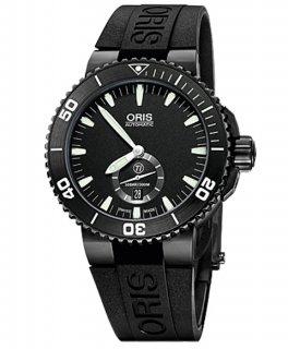 オリス アクイス スモールセコンド デイト 73976747754R メンズ 腕時計 ORIS Aquis