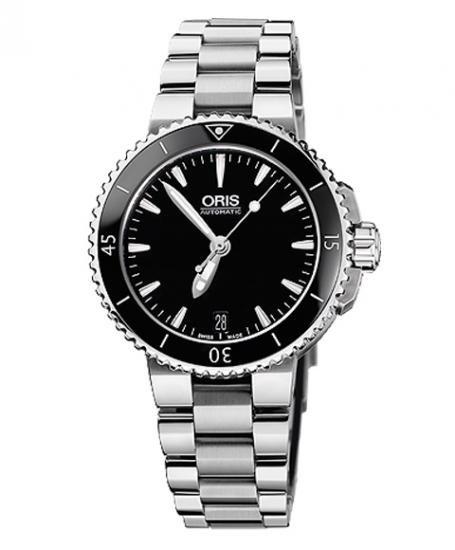 入荷予約販売 オリス アクイス デイト 73376524154M ダイバーズ レディース 腕時計 ORIS
