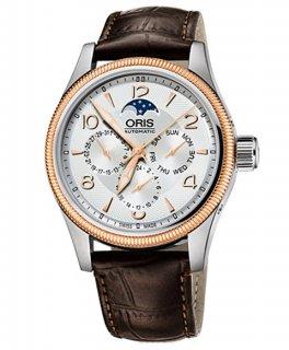 オリス ビッグクラウン コンプリケーション 58276784361D 腕時計 メンズ ORIS Big Crown 582 7678 4361D レザーストラップ