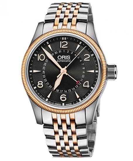 オリス ビッグクラウン ポインターデイト 75476794364M メンズ 腕時計 ORIS Big Crown