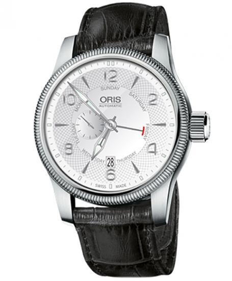オリス ビッグクラウン スモールセコンド ポインターデイ 74576884061D メンズ 腕時計 ORIS