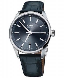 オリス アーティックス デイト 73376424035D 腕時計 メンズ 自動巻き ORIS Artix 733 7642 4035D レザーストラップ