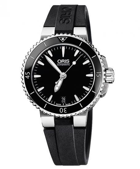 海外取寄せ(納期:約2~3ヶ月) オリス アクイス デイト 73376524154R ダイバーズ  レディース 腕時計 OR…
