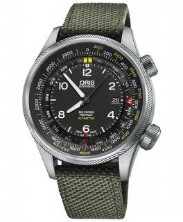 特価 55%OFF! オリス ビッグクラウン プロパイロット 73377054164DOL(テキスタイル/オリーブ) 腕時計 メンズ ORIS Big Crown 733 7705 4164DOL