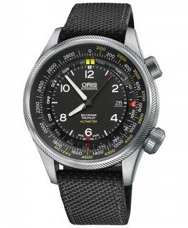 オリス ビッグクラウン プロパイロット  73377054164DBK(テキスタイル/ブラック)  腕時計 メンズ ORIS Big Crown 733 7705 4164D