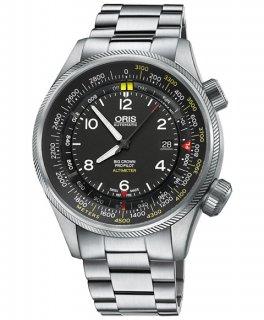 オリス ビッグクラウン プロパイロット 73377054164M 腕時計 メンズ ORIS Big Crown 733 7705 4164M メタルブレス アウトレット