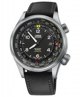 オリス ビッグクラウン プロパイロット アルティメーター メートルスケールタイプ 73377054164D 腕時計 メンズ ORIS 733 7705 4164D アウトレット