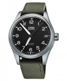 即納可能! オリス ビッグクラウン プロパイロット 75176974164D(テキスタイル/オリーブ) メンズ 腕時計 ORIS Big Crown 751 7697 4164D