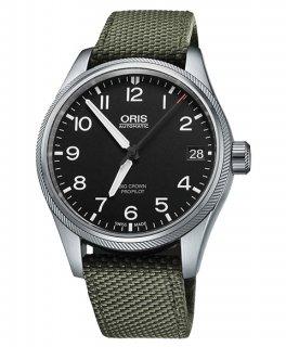オリス ビッグクラウン プロパイロット デイト 75176974164DOL (テキスタイル/オリーブ)  腕時計 メンズ ORIS 751 7697 4164DOL