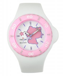 ワケあり アウトレット 【チチニューヨーク レディース 腕時計 CCHK1204-WH】 Hello Kitty Collection ハローキティ