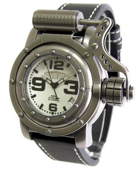 ワケあり アウトレット レトレック R-006 自動巻 腕時計 メンズ RETROWERK 200M防水