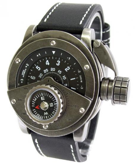 ワケあり アウトレット レトレック R-002 自動巻 腕時計 メンズ RETROWERK 200M防水