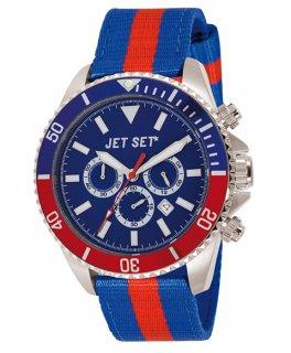 ワケあり アウトレット 73%OFF! JET SET ジェットセット 腕時計 J21203-17 SPEEDWAY クロノグラフ
