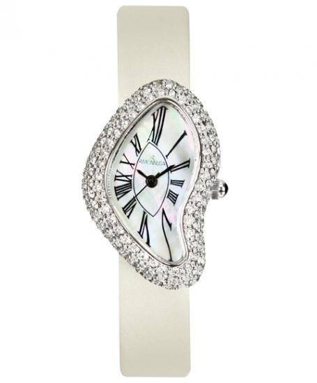 ワケあり アウトレット アモンリザ AR-DEC08-01WH 腕時計 レディース AMONNLISA