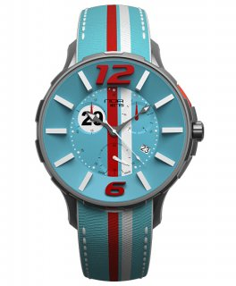 ワケあり アウトレット 73%OFF!  NOAノア 腕時計 16.75 GRT 005モナコ クロノグラフ 限定モデル レザーストラップ