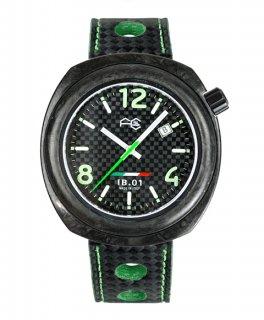 特価73%OFF! ワケあり アウトレット フルカーボン IB0111-GS 腕時計 メンズ FULL CARBON IB.01
