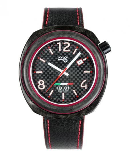 ワケあり アウトレット フルカーボン IB0113-RH 腕時計 メンズ FULL CARBON IB.01
