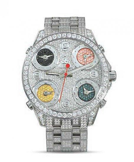 ジェイコブ JCM40DC ファイブタイムゾーン アウトレット 腕時計 JACOB&CO