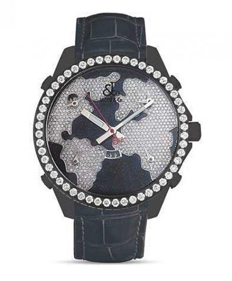 ジェイコブ JC47STBD ファイブタイムゾーン 5timezone 47mm アウトレット 腕時計 JACOB&CO