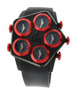 ジェイコブ GLOBAL JC-GL1-17 グローバル 5time zone 腕時計 JACOB&CO