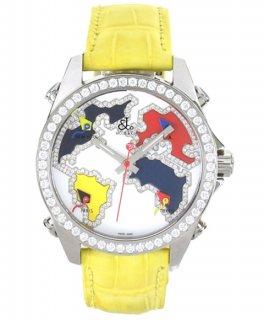 ジェイコブ ファイブタイムゾーン JC-M126D ダイヤモンドベゼル 腕時計 JACOB&CO