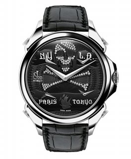 ジェイコブ パレーシャルファイブタイムゾーン JC-BPLPRWHD 腕時計  パレーシャルファイブタイムゾーン P 腕時計 JACOB&CO
