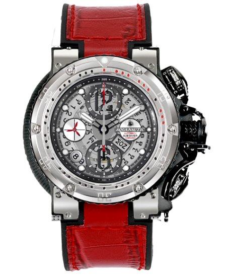 アクアノウティック ハーフスケルトン KRP02SKNAJ09 腕時計 AQUANAUTIC KING CHRONOGRAPH Half Skeleton
