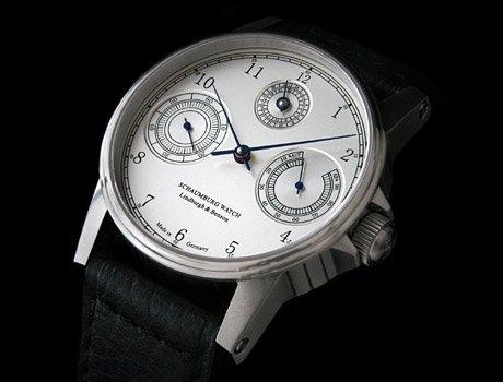 シャウボーグ AUF/AB-TECHNICAL1 腕時計 メンズ 手巻 AUFAB TECHNICAL GMT 1 SCHAUMBURG